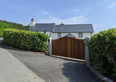 Dingerein House, Roseland Peninsula, Extension