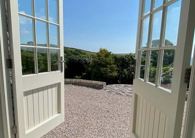 Seagers Barn, Roseland Peninsula, Extension