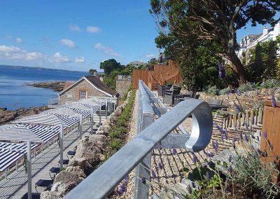 Tresanton Beach Terrace, Roseland Peninsula, Commercial